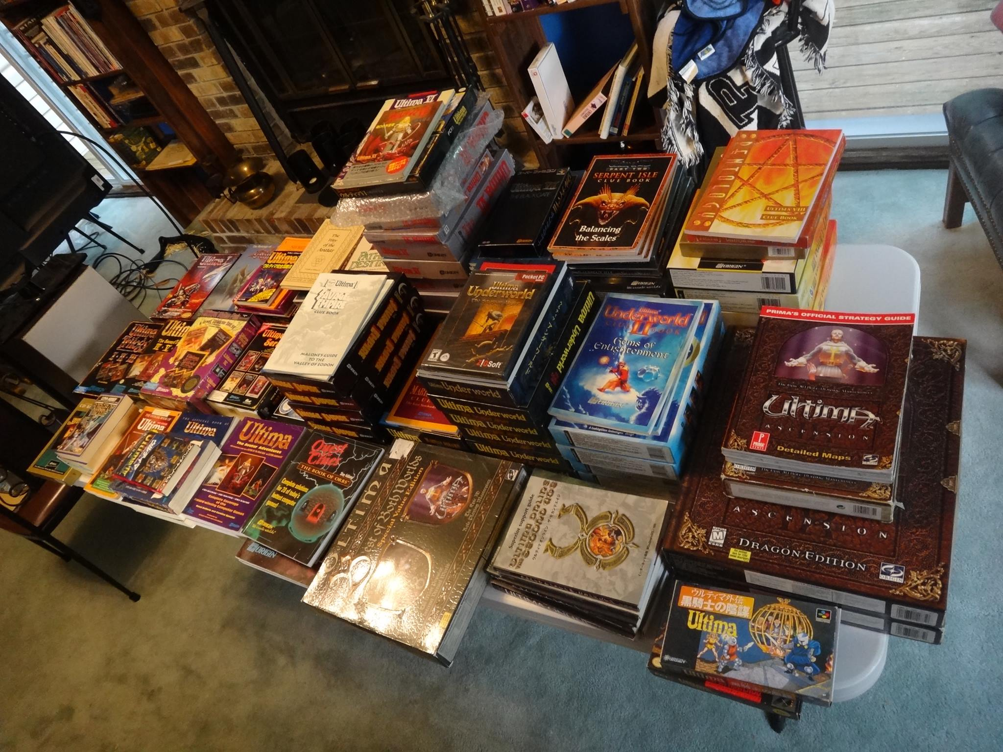 Your Ultima Collection (and mine)    | Shroud of the Avatar Forum